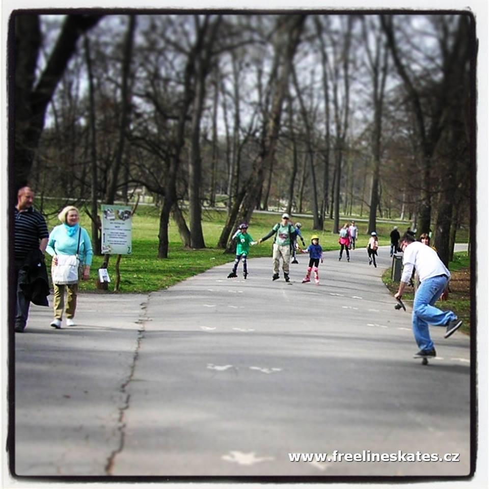 Stromovka Freeline Skates.cz