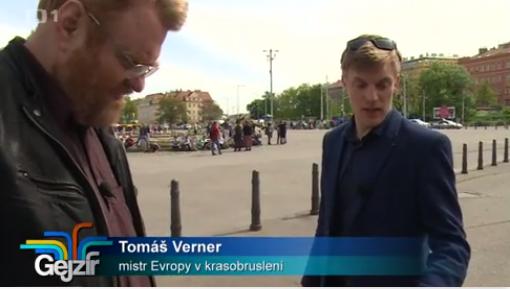 Tomáš Verner Gejzír České televize
